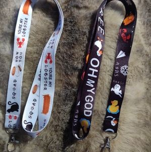 Set of 2 FRIENDS TV show lanyards